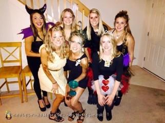 Disney Villians All-Girl Group Costume