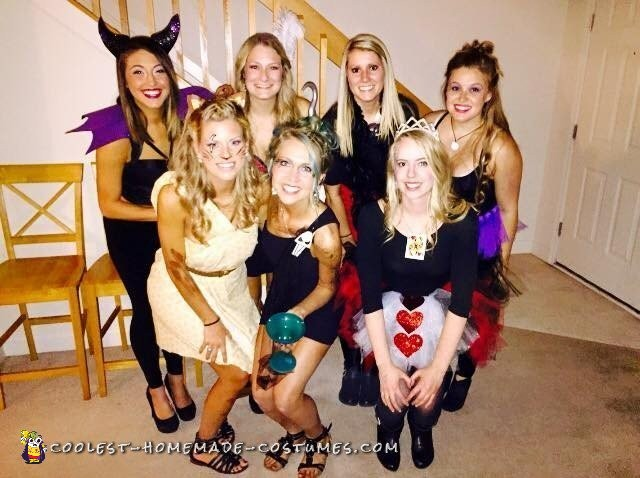 Disney Villians All-Girl Group Costume - 1
