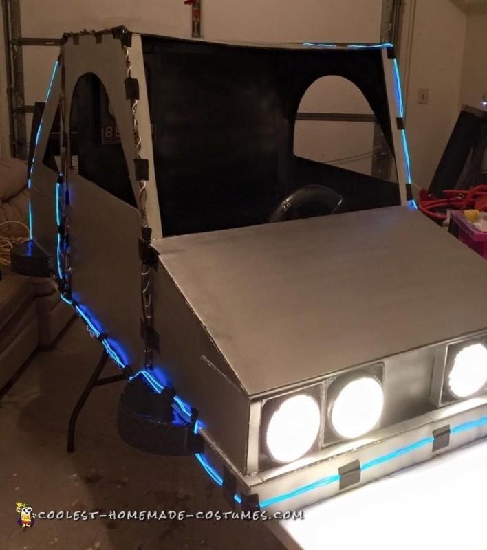 DIY Back to the Future Delorean