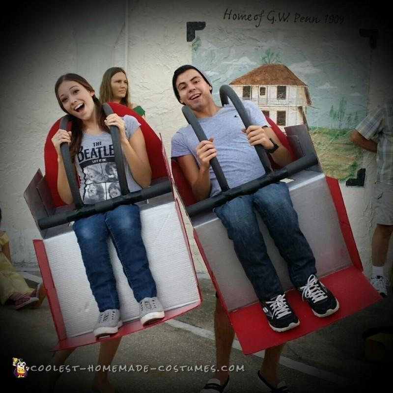 DIY Couples Coaster Costume