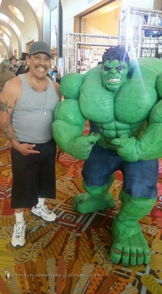DIY Hulk Costume Made from Scratch!