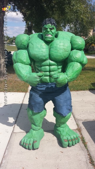 DIY Hulk Costume Made from Scratch!