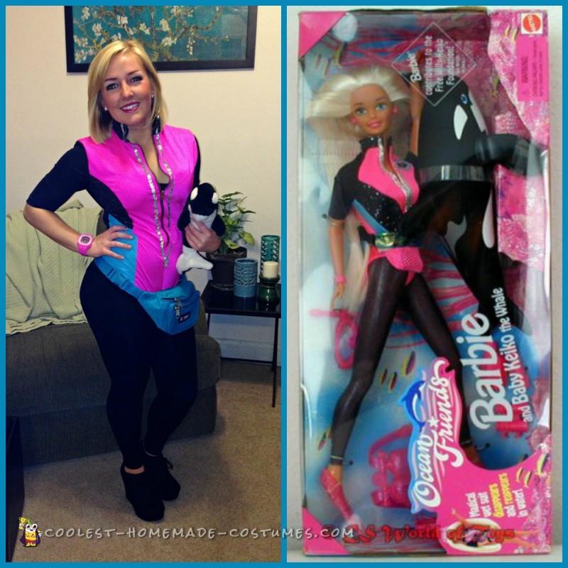 DIY Ocean Friends Barbie Costume - 2