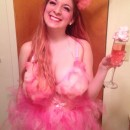 DIY Pink Cotton Candy Costume