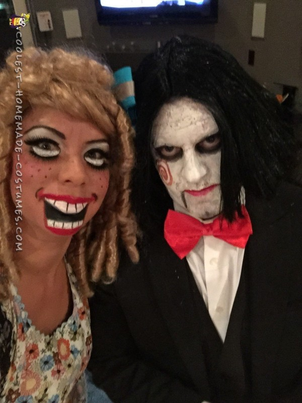Scary Dolls Couple Costume