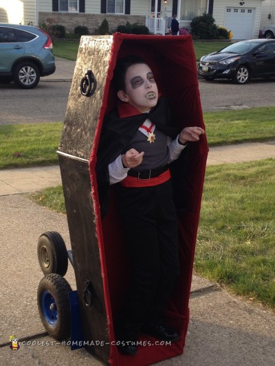 Coolest Wheelchair Dracula Costume