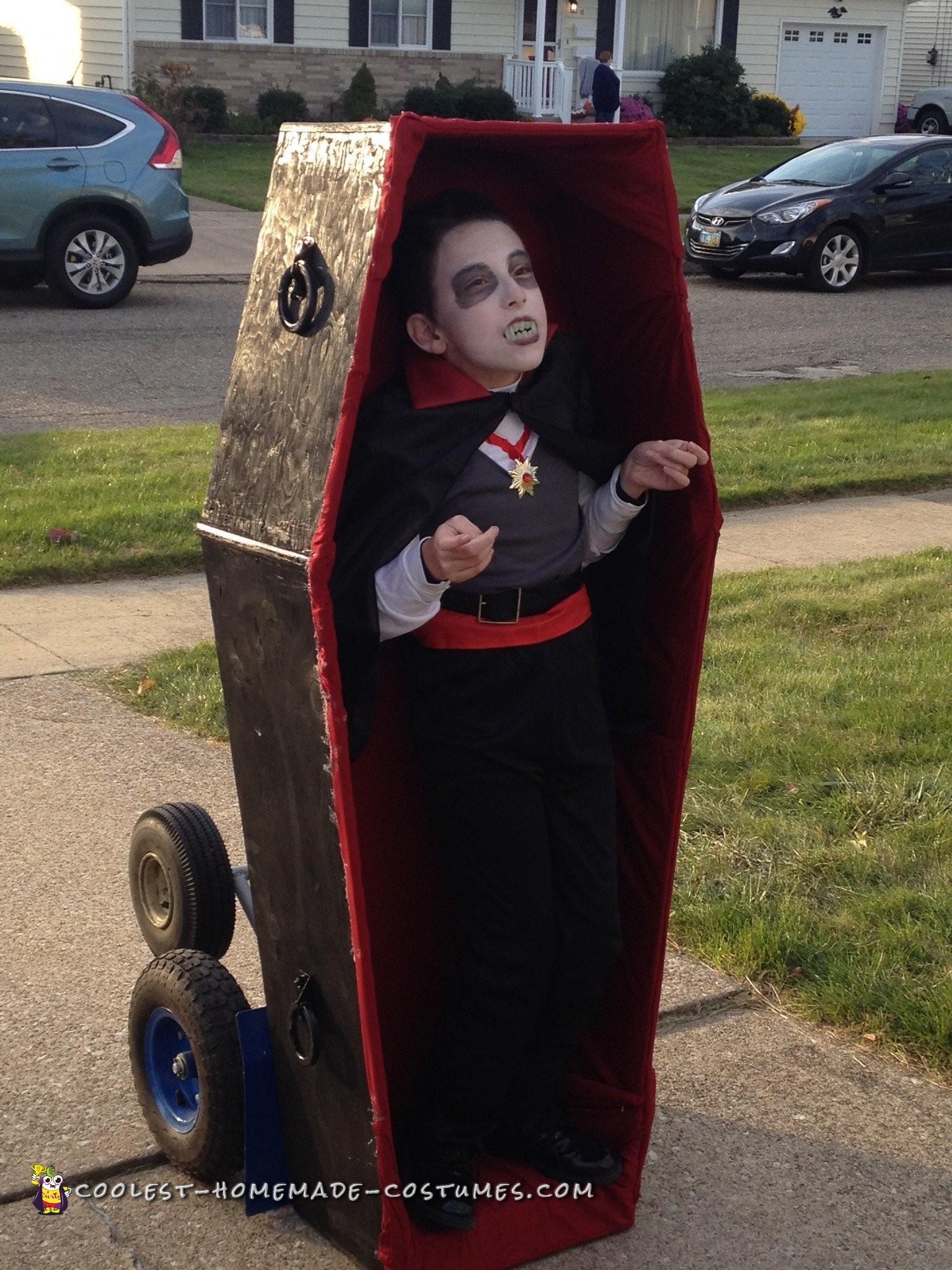 Coolest Wheelchair Dracula Costume