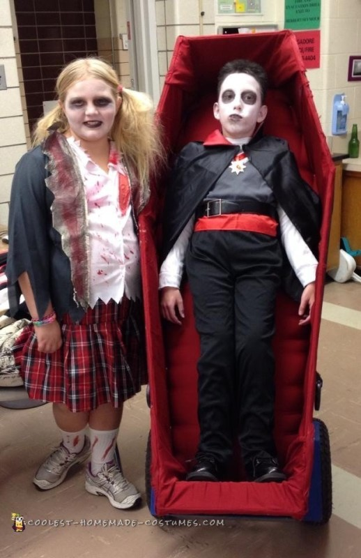Coolest Wheelchair Dracula Costume - 1