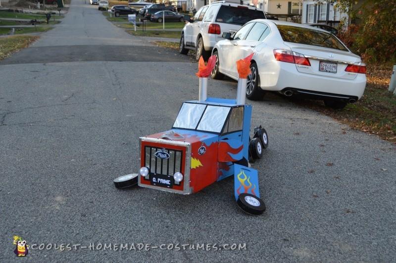 Dream Come True Optimus Prime Transformer Costume