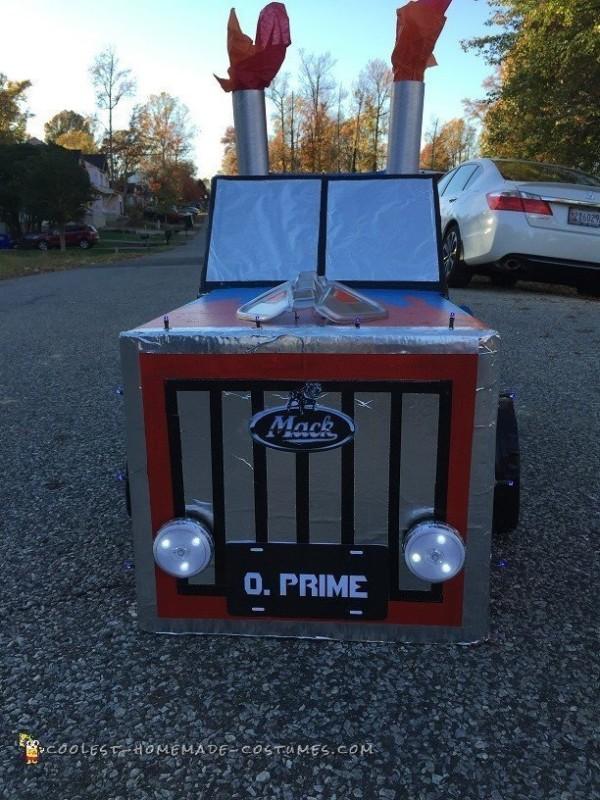 Dream Come True Optimus Prime Transformer Costume - 3