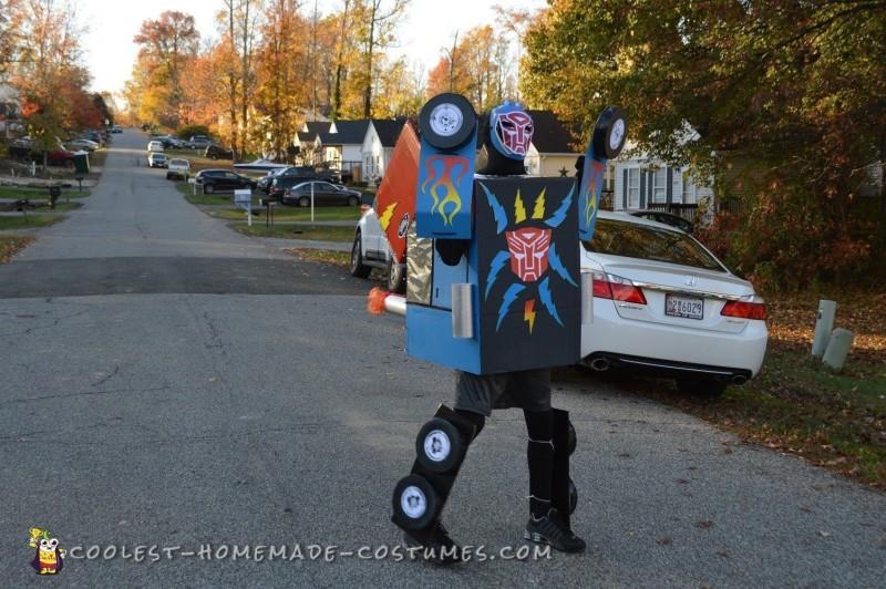 Dream Come True Optimus Prime Transformer Costume - 4