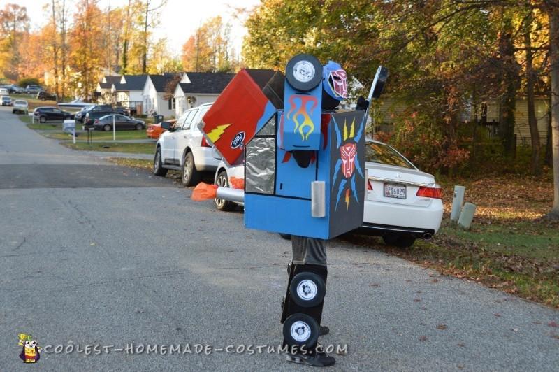 Dream Come True Optimus Prime Transformer Costume - 5