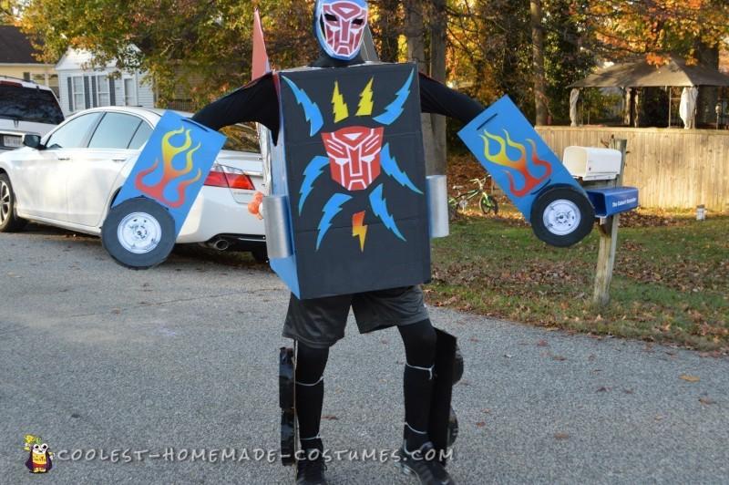 Dream Come True Optimus Prime Transformer Costume - 6