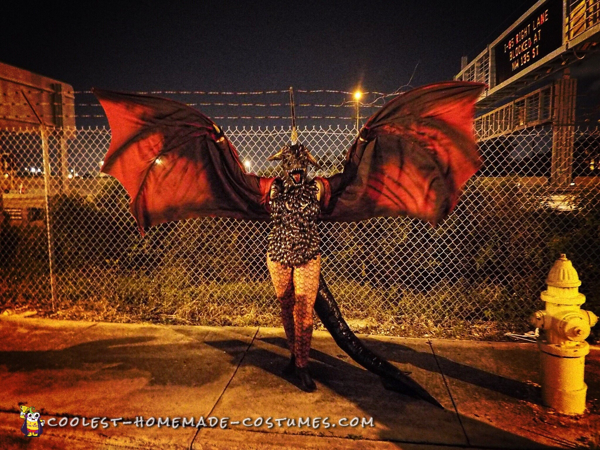 Drogon Targaryen Costume - Master of Dragons from Game of Thrones
