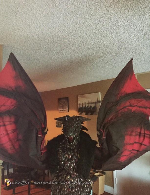 Drogon Targaryen Costume - Master of Dragons from Game of
