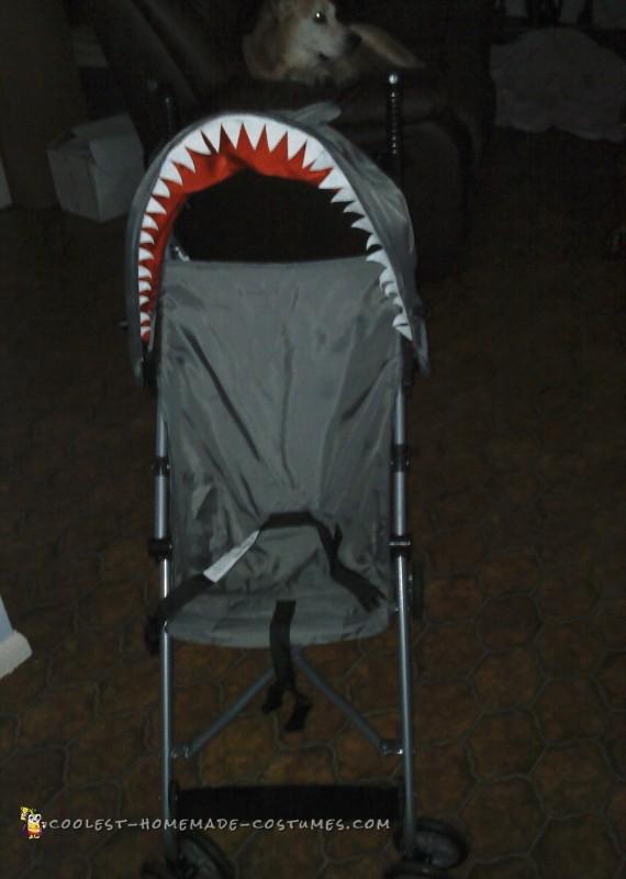Avian's shark stroller