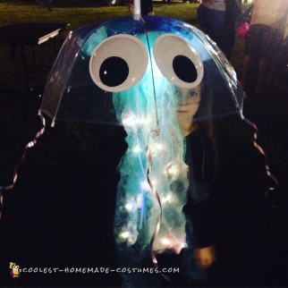 Easy Light Up Child's Jellyfish Costume