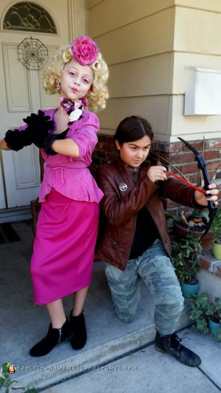 Turning Our 9 Year Old Into The Hunger Games' Effie Trinket