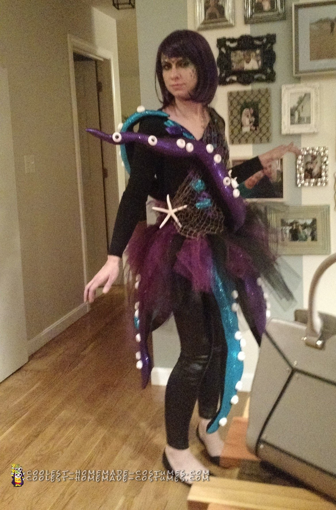 Elaborate Octopus Costume