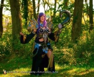 Armored Elf Mage Costume