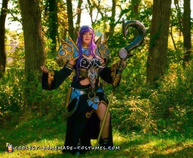 Armored Elf Mage Costume