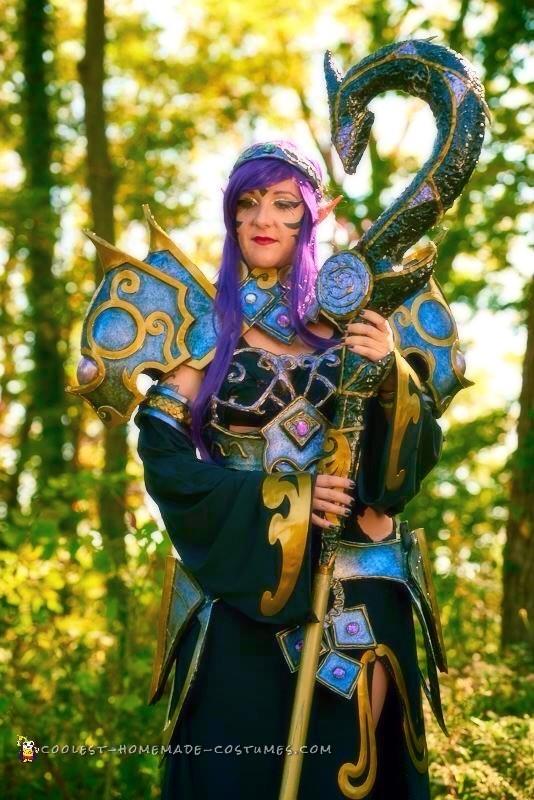 Armored Elf Mage Costume - 3