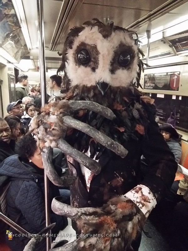Aboard New York City subway train.