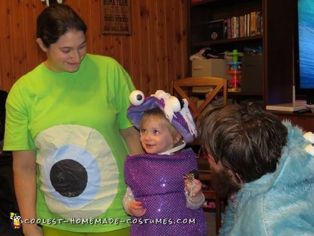 Family Monster's Inc. Group Costume - 1