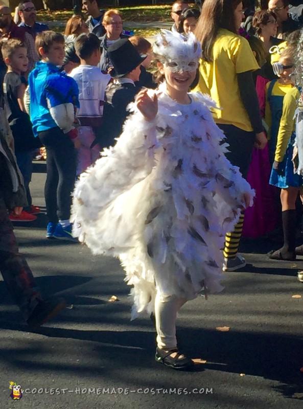 A happy parade participant...