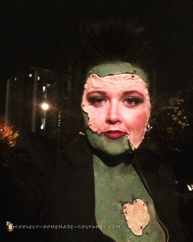 Female Frankenstein's Monster Costume - 3