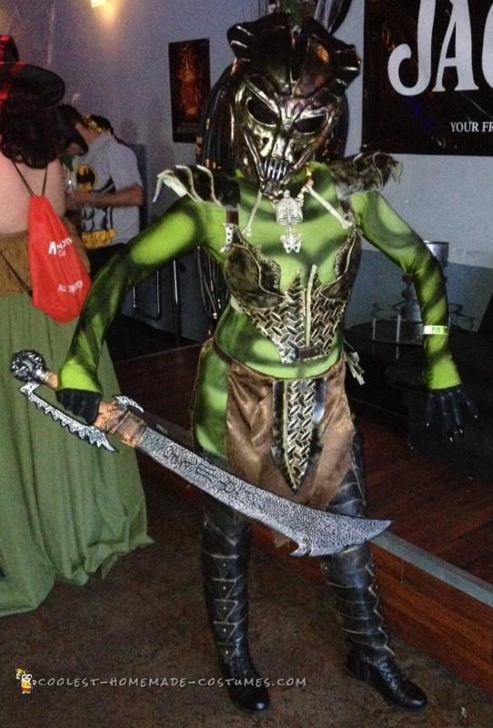 Female Predator Costume