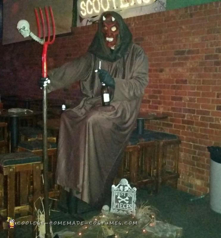 Floating Devil Illusion Costume