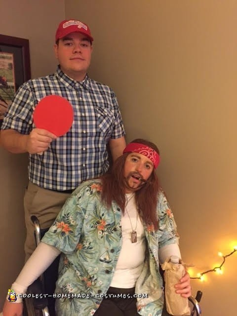 Forrest Gump and Lieutenant Dan Couple Costume