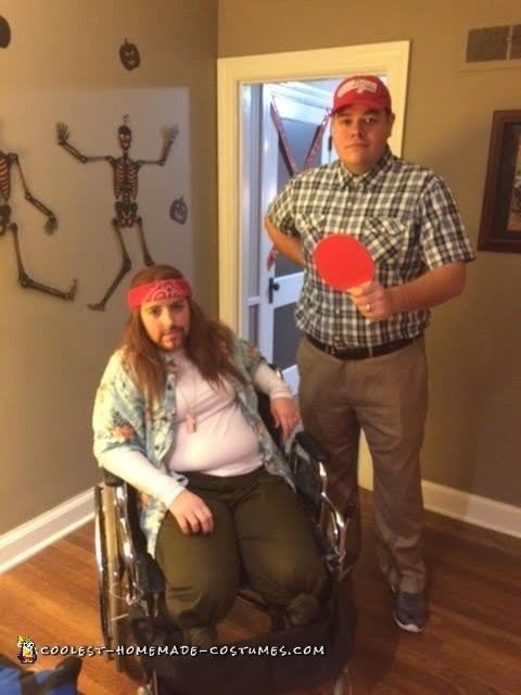 Forrest Gump and Lieutenant Dan Couple Costume - 1