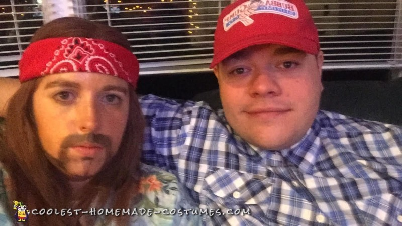Forrest Gump and Lieutenant Dan Couple Costume - 2