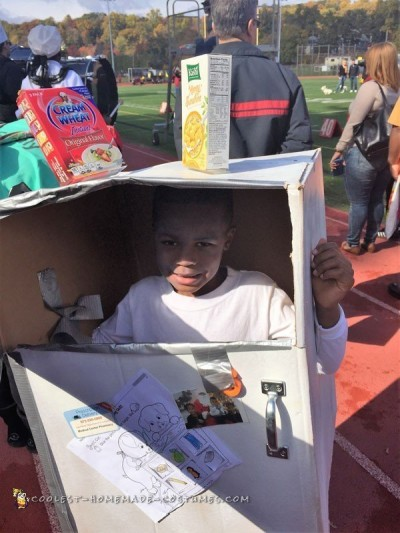 The Boy Who Wanted To Be A Real Refrigerator