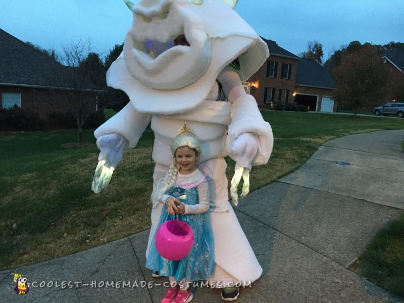 Frozen's Marshmallow Snow Monster Costume - 3