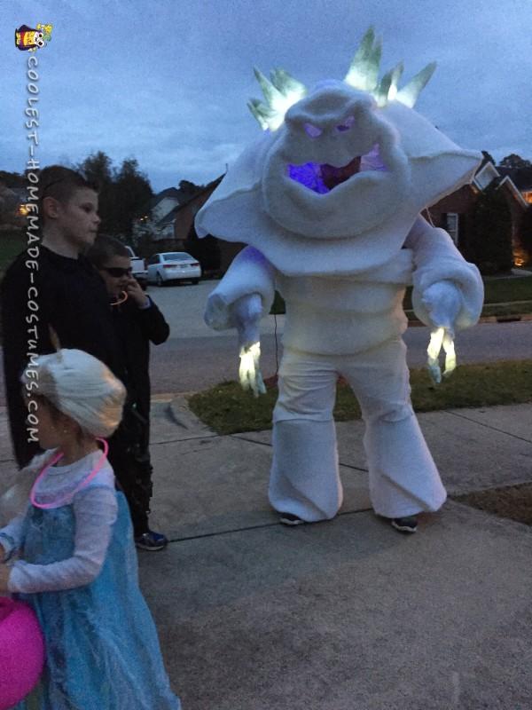Frozen's Marshmallow Snow Monster Costume - 2