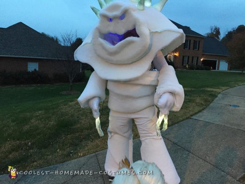 Frozen's Marshmallow Snow Monster Costume - 5