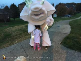 Frozen's Marshmallow Snow Monster Costume
