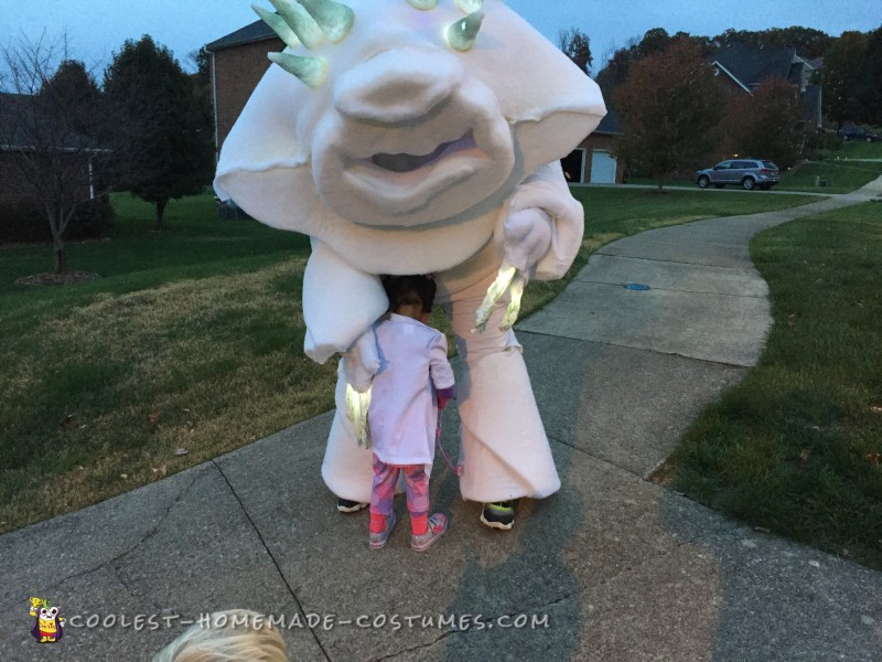 Frozen's Marshmallow Snow Monster Costume - 8
