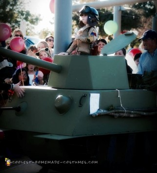 WWII Tanker and Tank Halloween Costume