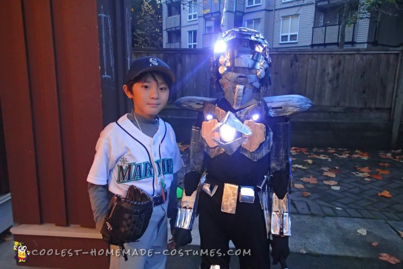 Futuristic Robot Costume