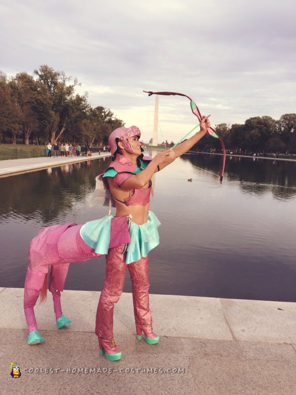 Galactic Centaur Costume - Serving the People and the USA