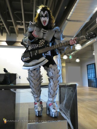 Gene Simmons Demon Costume Hand-Drafted and Crafted
