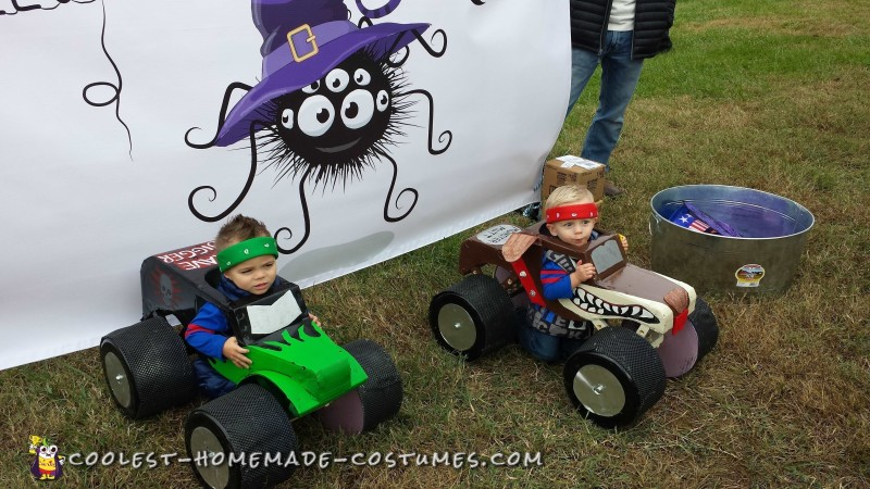 Monster Truck Costumes for Twins - 2