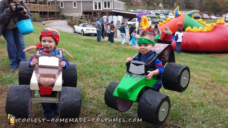 Monster Truck Costumes for Twins - 5