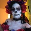 Dia de los Muertos Costume and Makeup