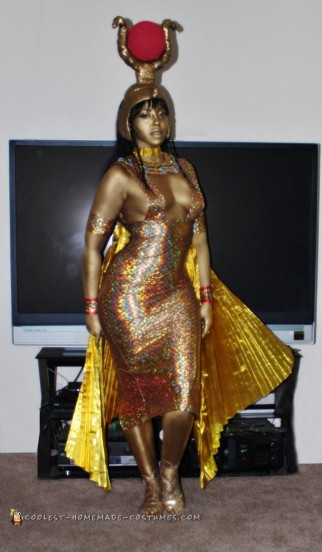 Goddess Isis Costume for the Handy, Dandy and Crafty