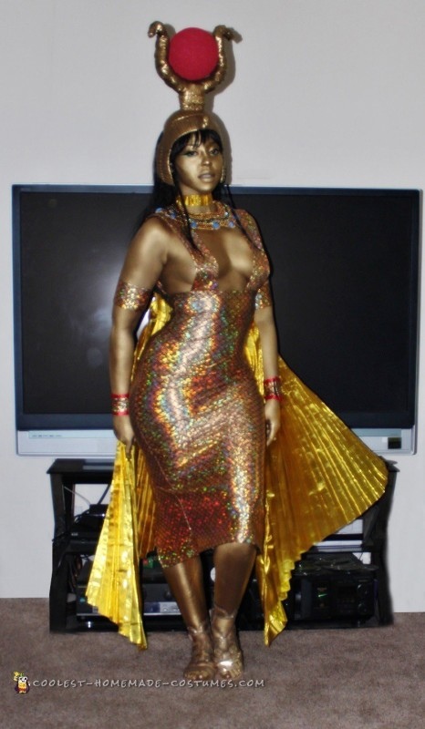 Goddess Isis Costume for the Handy, Dandy and Crafty - 6